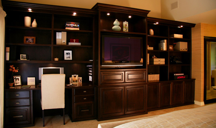 Custom built in cabinets by doopoco enterprises fine cabinetry for Custom built cabinets