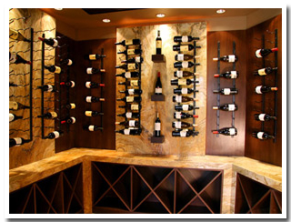 Wine and Bar Cabinetry
