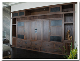 Custom Home Theater Cabinets traditional