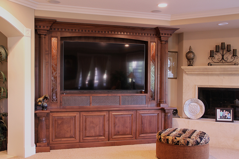home theater cabinet custom home theater cabinetry and entertainment cabinets 16554