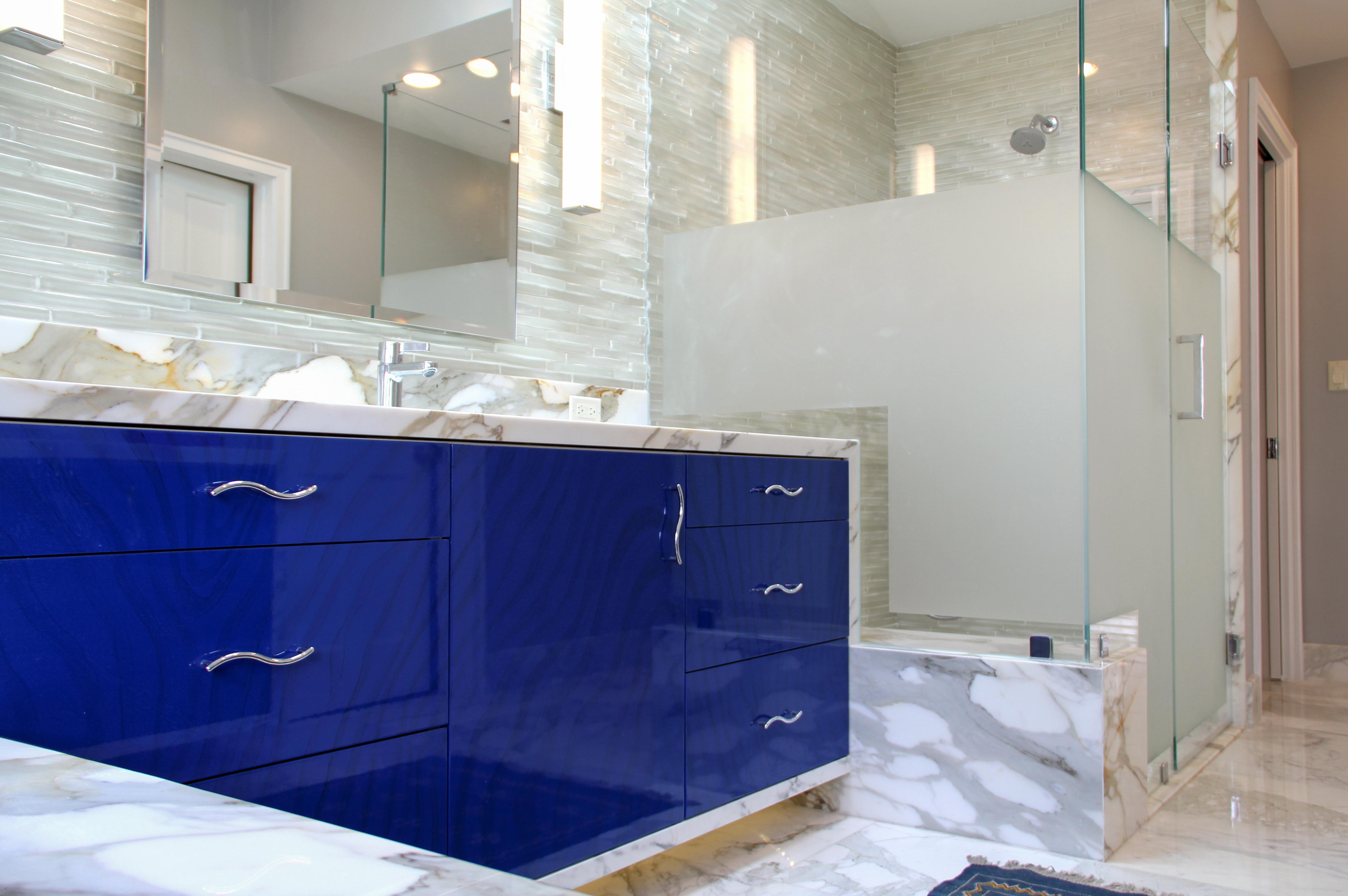 Custom Contemporary Bath in Malibu
