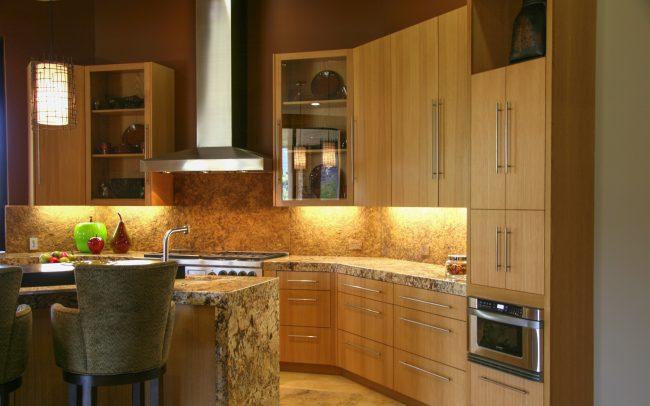 Palm Desert Contemporary Designed Residence in Rift Oak